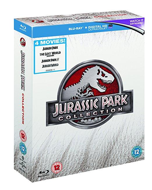 Coffret Blu-ray Jurassic Park (4 films)