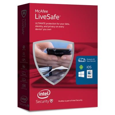Logiciel McAfee LiveSafe sur PC (Dématérialisé)