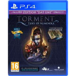 Torment Tides of Numenera + Steelbook sur PS4