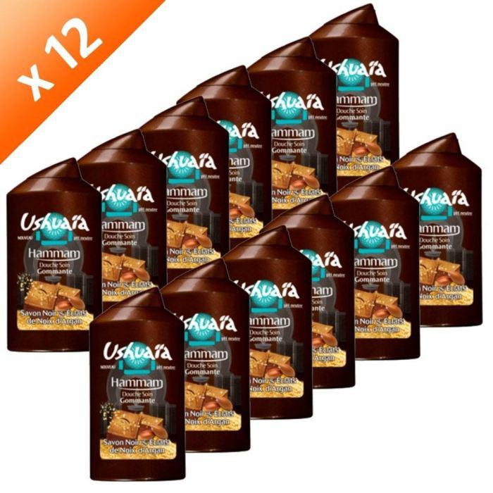 Sélection de packs de gels douche Ushuaia en promo - Ex : Pack de 12 gels douche  Ushuaia