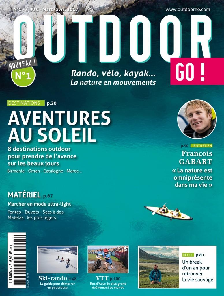 Magazine OutdoorGo ! n° 1 offert (au lieu de 5.9€)