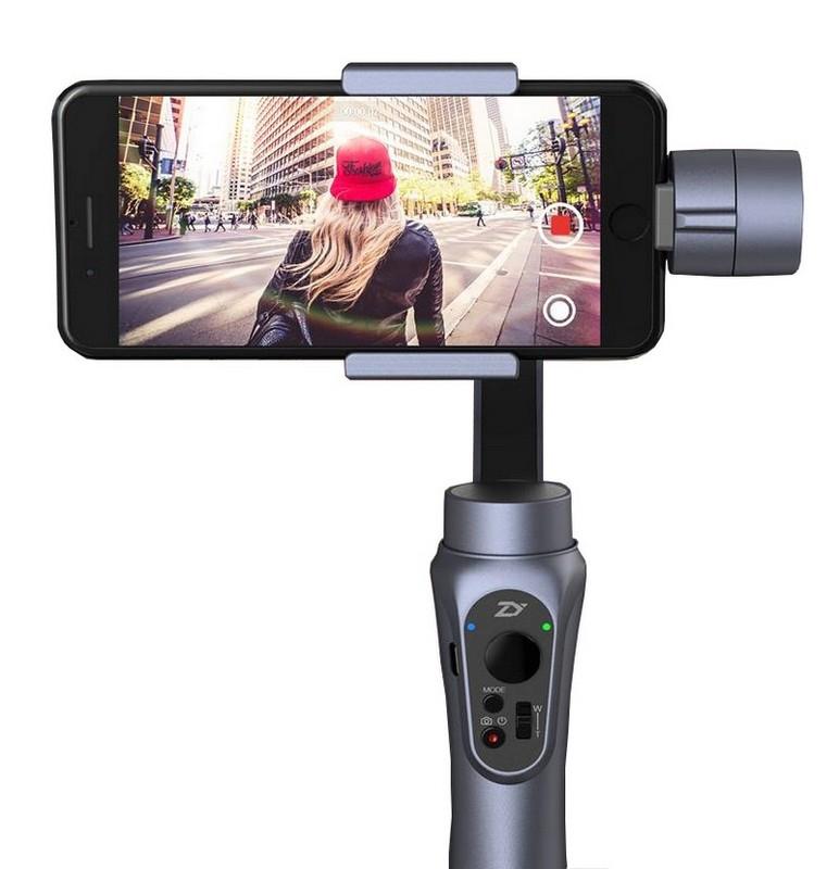Stabilisateur motorisé 3 axes pour smartphone Zhiyun Smooth Q - gris
