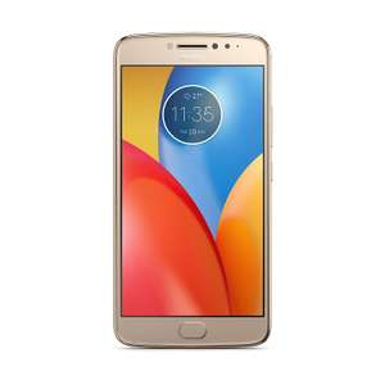 "Smartphone 5.5"" HD Motorola Moto E4 Plus - 3 Go RAM, 16 Go, 5000 mAh - Or"
