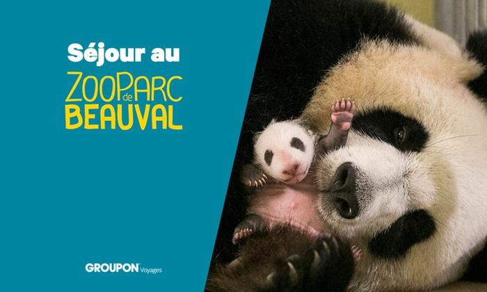 Séjour en semaine au Zooparc de Beauval - 1 nuit aux pagodes de Beauval avec accès 2 jours au parc pour 2 adultes et 2 enfants avec cocktail et petit déjeuner