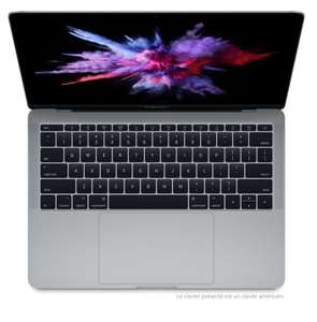 """PC portable 13.3"""" Apple MacBooki5 bicœur à 2,3GHz, 128 Go SSD, 8 Go RAM  - Gris sidéral (reconditionné)"""