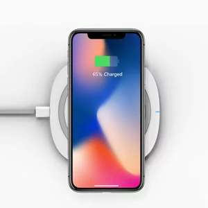 Chargeur induction QI Tochic 10W pour iPhone X / 8 / 8 Plus / Samsung / LG
