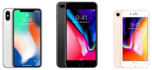 "Tous les iPhone en promotion - Smartphone 5.8"" Apple iPhone X - 256 Go (Frontaliers Suisse)"