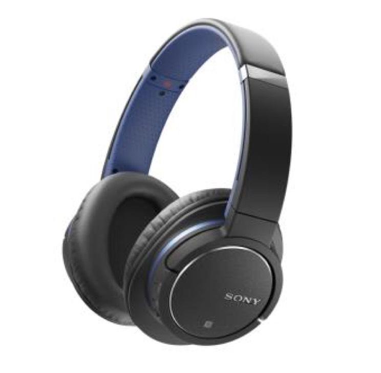 Casque audio Sony MDR-ZX770 - Bluetooth (Bleu) avec Deezer 3 mois à 0,99/mois