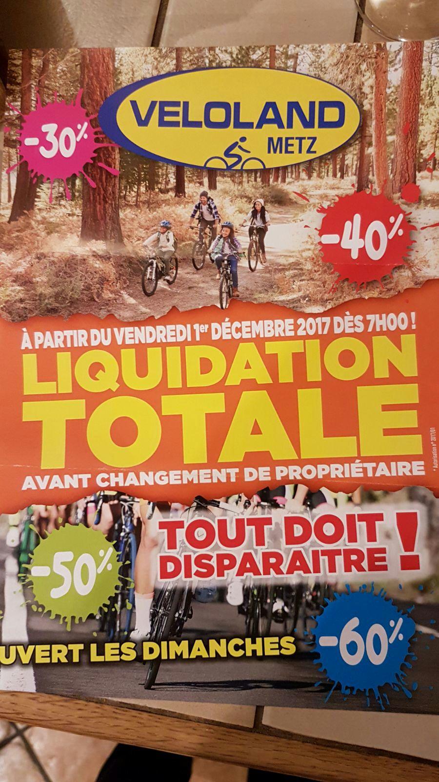 Liquidation totale - Ex : Vélo Scott Genius 720 Plus (Veloland Metz - 57)