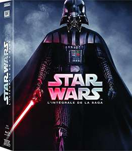 Coffret blu-ray Star Wars - La saga