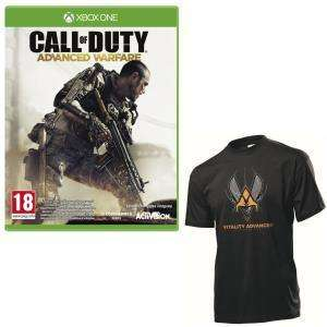 Pack Vitality: Call Of Duty Advanced Warfare sur Xbox One + T-Shirt (taille M)