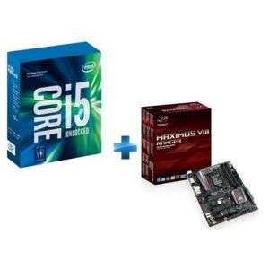 Pack carte mère Asus Maximus VIII Ranger + Processeur Intel Core i5-7600K 3.80GHz LGA1151