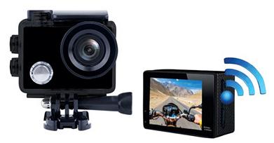 """Caméra Sportitve 2"""" LCD X'trem Plus170° - 4K, 16Mp + Accessoires"""
