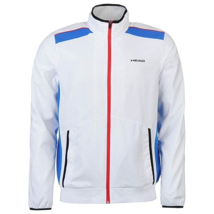 Veste de Tennis Head Club M Blanc pour Hommes - Tailles au choix