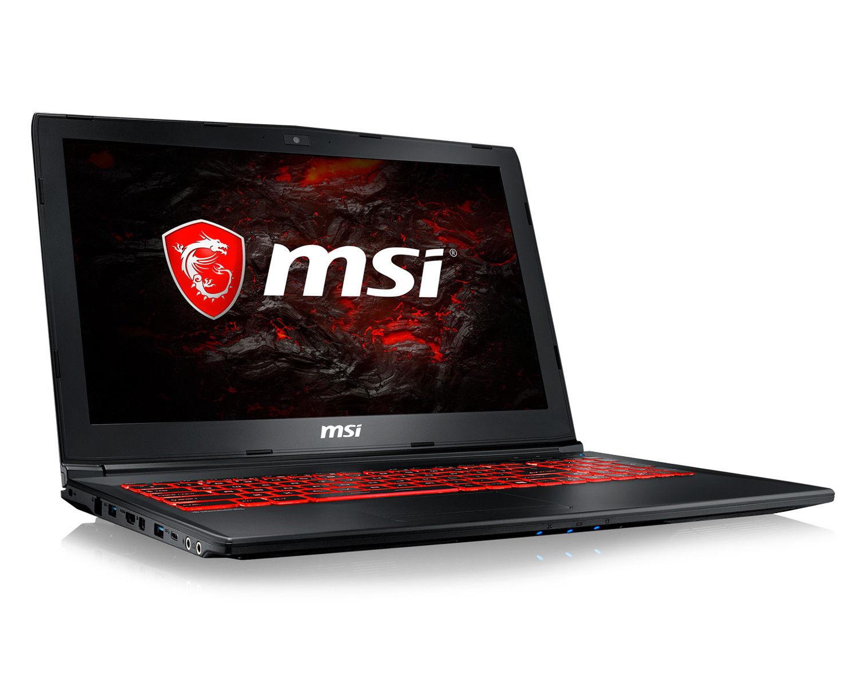"""PC Portable 15.6"""" MSI- GL62MVR 7RFX-1052XFR - Full HD, i5-7300HQ, RAM 8Go, 1To; GTX 1060 3Go (Sans OS)"""