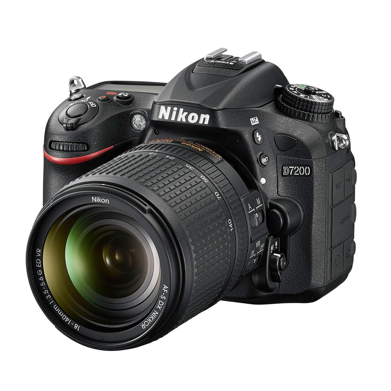[Visa premier] Kit Reflex Nikon D7200 + objectif 18-105mm VR