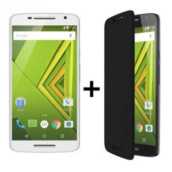 "Smartphone 5.5"" Motorola X Play - Snapdragon 615, Full HD, 2 Go RAM, 16 Go ROM + Flip cover (vendeur tiers)"