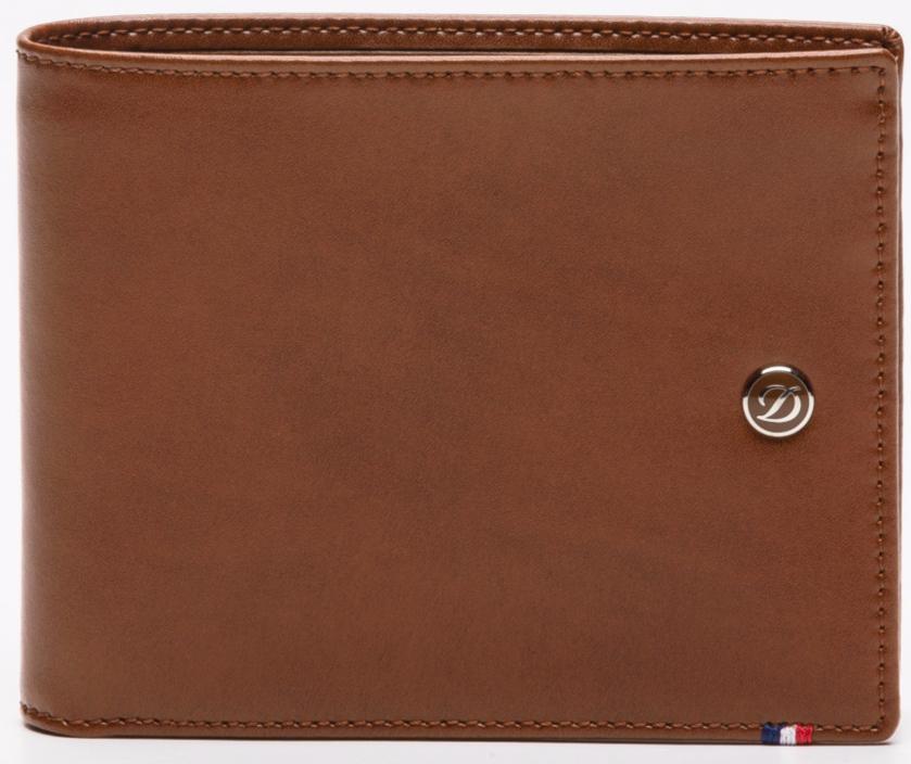 Portefeuille Ligne D S.T.Dupont en cuir marron - Homme (et autre)