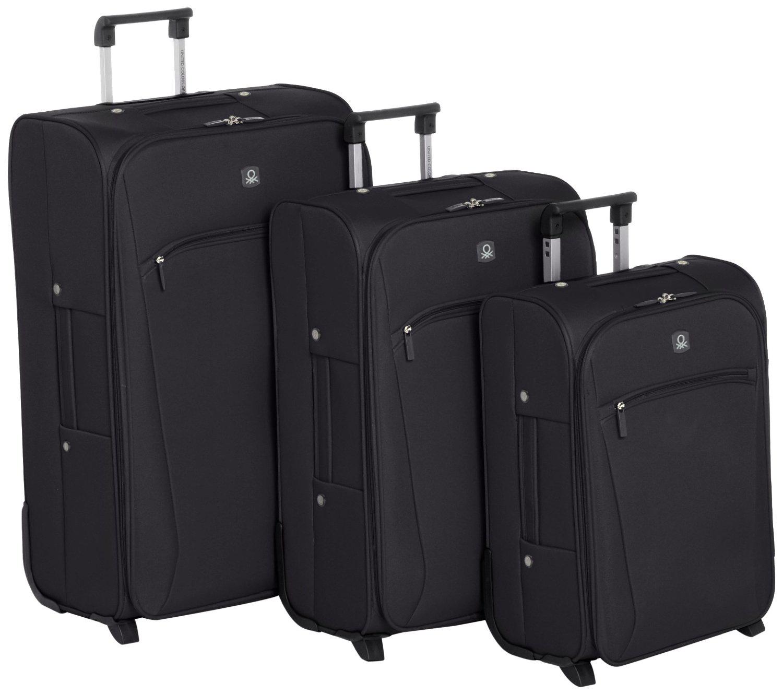 Lot de 3 valises Benetton à Roulettes