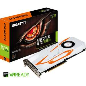 Carte graphique Gigabyte GeForce GTX 1080Ti Turbo 11Go