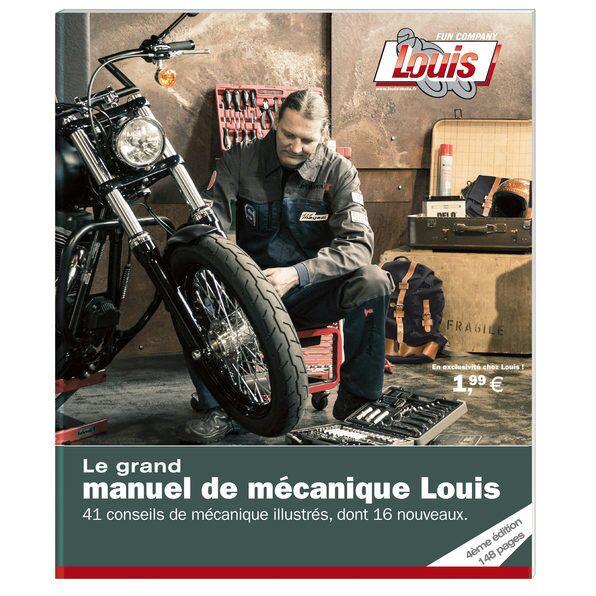 Le Grand Manuel de mécanique Louis Moto gratuit (au lieu de 1.99€)