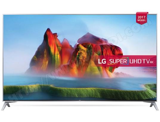 "TV LED 55"" LG 55SJ800V - 4K - HDR - 10 bits - 100Hz"