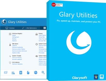 Licence d'1 an pour le logiciel Glary Utilities 5 Pro Gratuite sur PC
