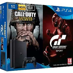 Pack PS4 1To Call Of Duty WWII & Gran Turismo Sport