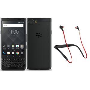 "Smartphone 4,5 "" Blackberry Keyone Black Edition Azerty + Casque Jabra Halo Smart"