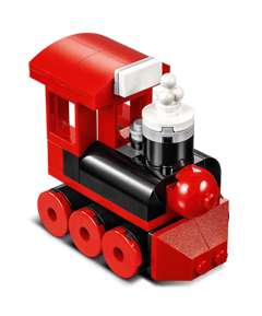 Modèle miniature train à vapeur Lego offert aux enfants âgés de 6 à 14 ans (le 06/12/17 entre 16h et 18h)