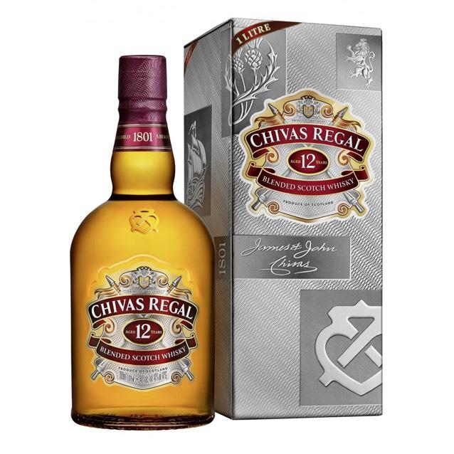bouteille de Whisky Chivas Regal - 12 ans d'âge (via 10.35€ sur la carte)
