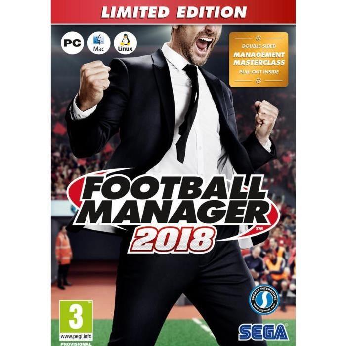 Football Manager 2018 Édition Limitée sur PC