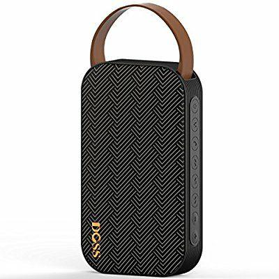 Enceinte Bluetooth Doss SoundGo - noir (Vendeur tiers)