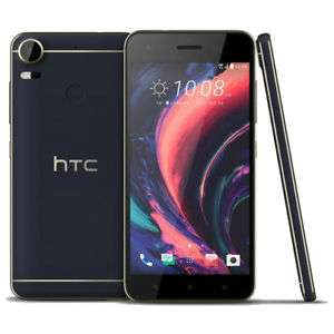 """Smartphone 5.5"""" HTC Desire 10 Pro - Helio P10, 4 Go de RAM, 64 Go, bleu"""