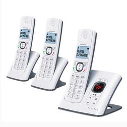 Lot de 3 téléphones fixes Alcatel F580 V Trio - avec répondeur - 19,95€ apres ODR