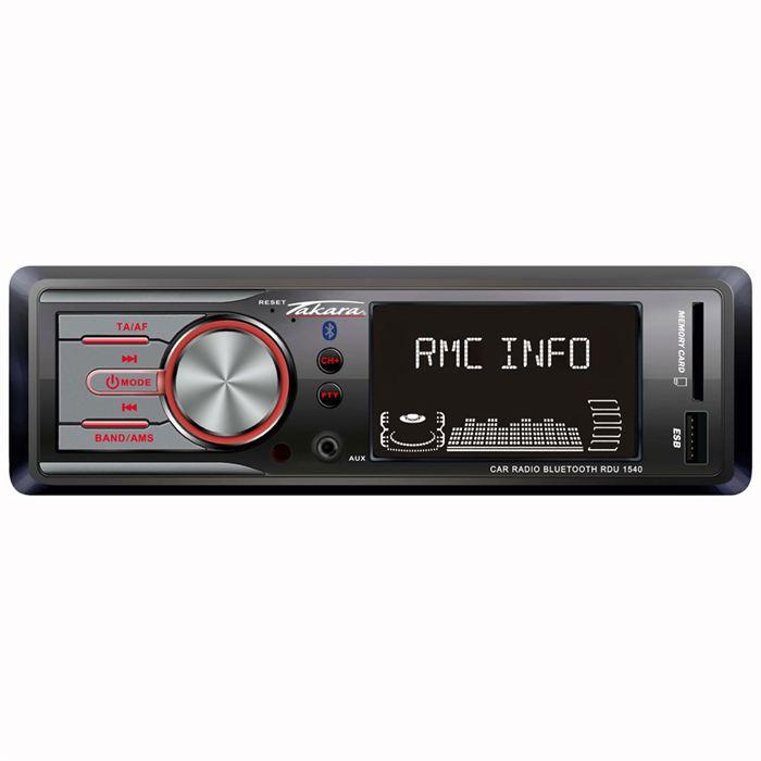 Autoradio Bluetooth takara RDU1540 (10€ ODR)