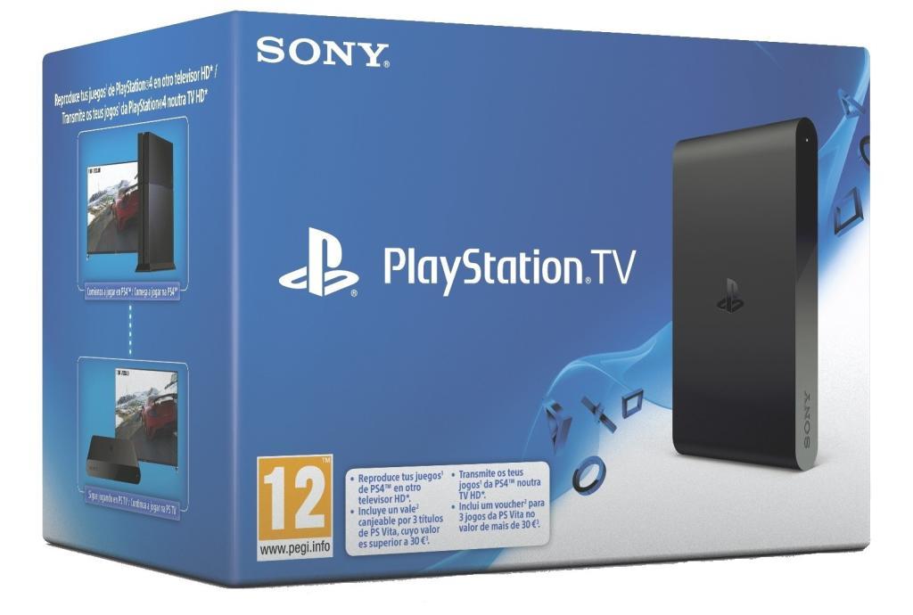 PlayStation TV + Worms Revolution Extreme, Velocity Ultra et OlliOlli 1