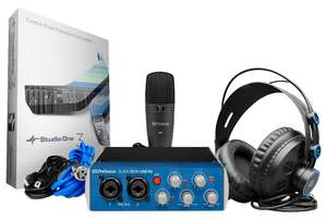 Pack de MAO Presonus Studio - casque HD7 + carte son AudioBox96 + micro M7