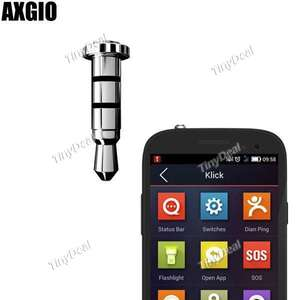 Bouton programmable Axgio pour smartphone Android Klick Jack 3,5mm