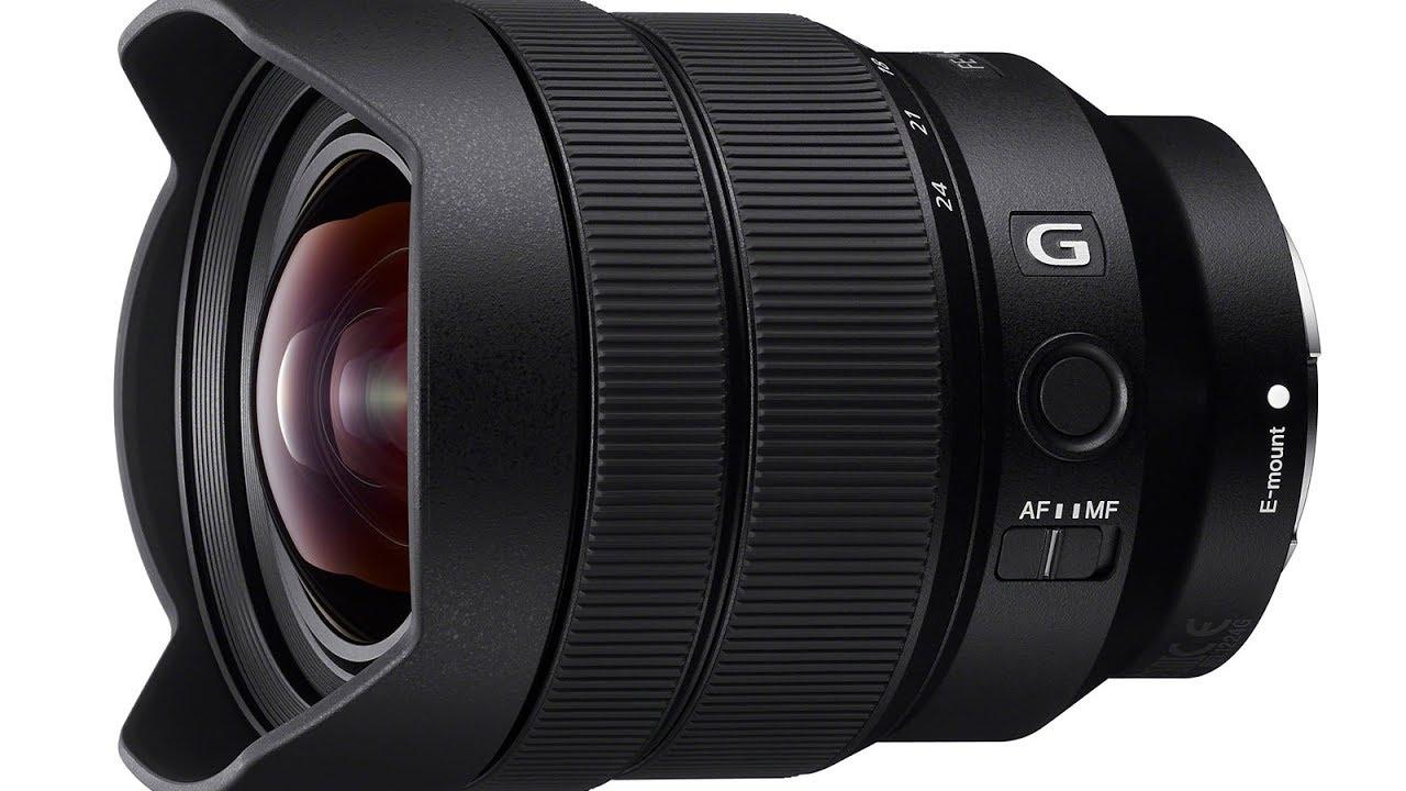 Objectif Sony SEL1224G Plein Format FE 12-24mm f4.0 pour Appareil Photo Hybride Sony