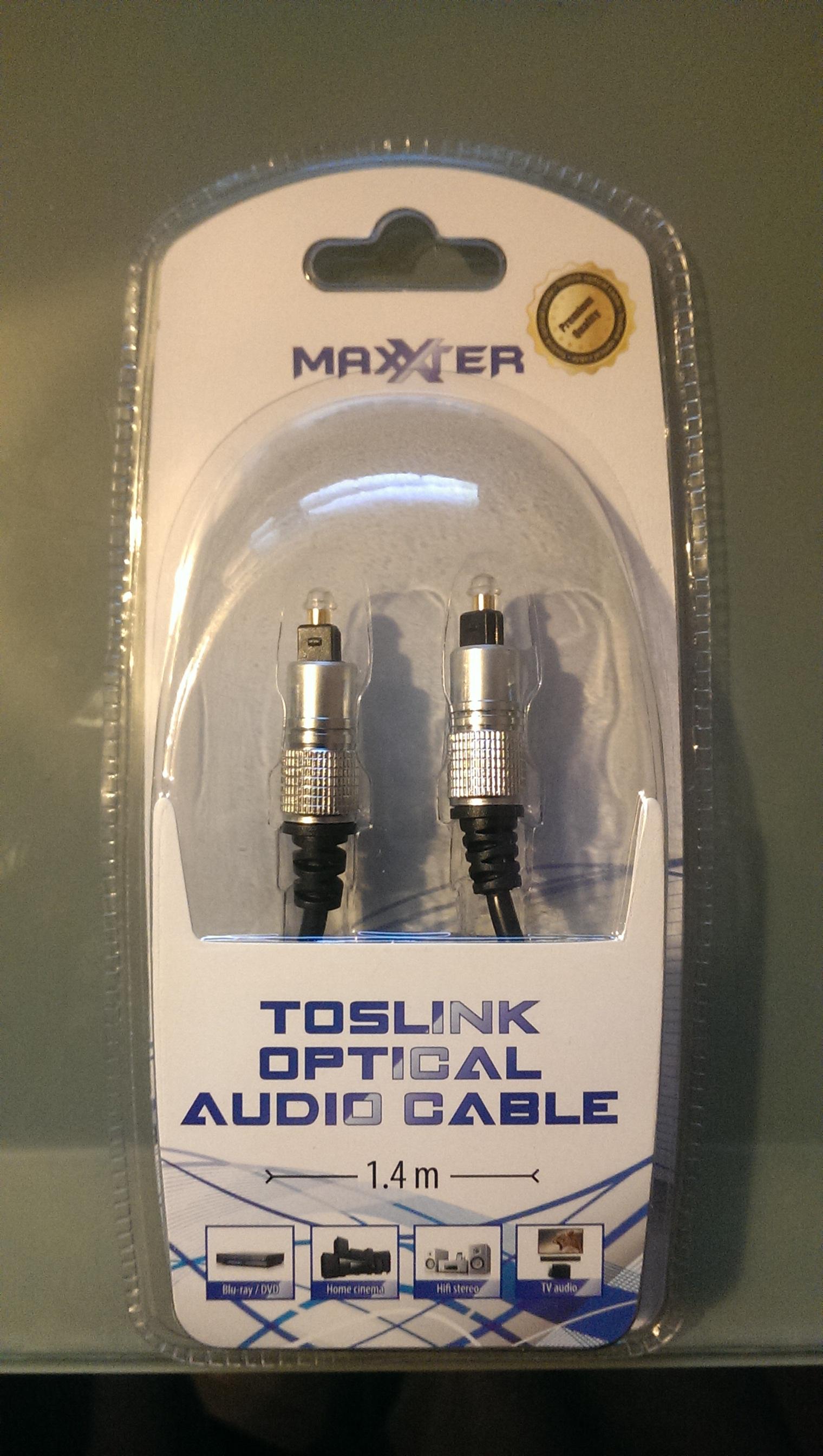 Câble optique Maxxter 1.40m