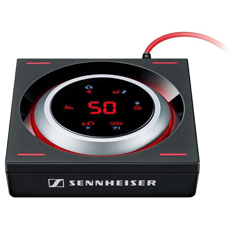 Amplificateur Audio Gaming Sennheiser GSX 1200 Pro - Noir/Rouge