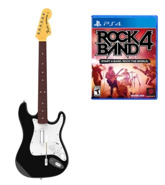 Rock Band 4 + Guitare sur PS4 et Xbox One
