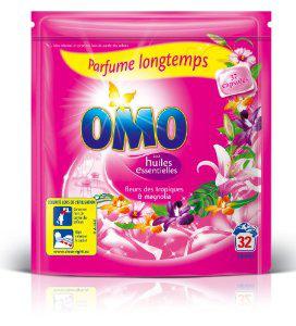 Lessive Omo Capsules 32 lavages ( 40% immédiate + 2€ BDR)