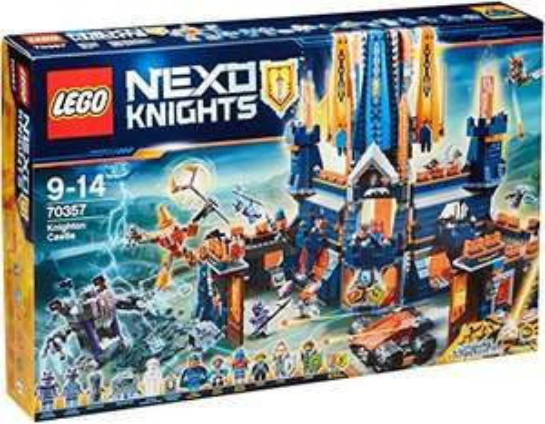 [Prime] Jeu de Construction LEGO 70357 Nexo Knights - Le Château de Knighton