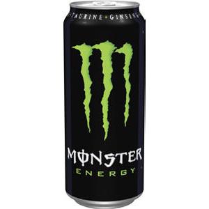 Lot de 3 canettes Monster Energy