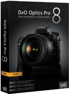 DxO Optics Pro 8 Elite gratuit sur PC/Mac