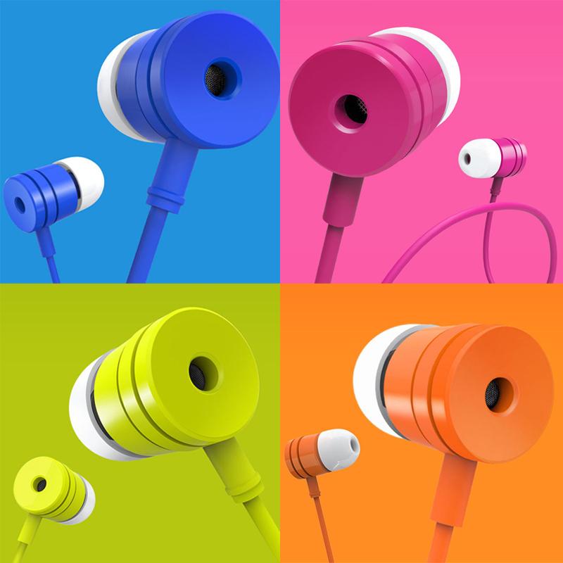 Ecouteurs plastique Original Xiaomi 3.5mm - Plusieurs coloris