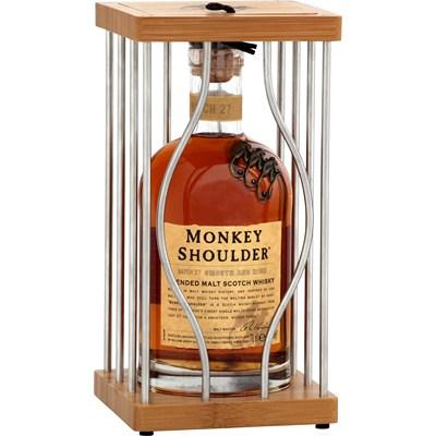 Coffret Whisky Monkey Shoulder 70cL + Cage (via 2€ fidélité) - Saint Grégoire (35)