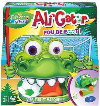 Jusqu'à -65% sur une sélection de jouets Hasbro - Ex: Ali Gator Fou de Foot ! (avec ODR 50%)